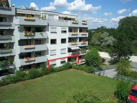2½-Zi-Whg., 74 m², Gerlingen, Hochparterre, ruhige Südlage, EBK, Tiefgarage, Hausmeisterservice