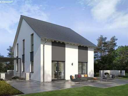 Großes Einfamilienhaus inkl. Bauplatz + Sitzfenster und KfW55 gefördert!