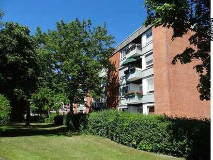 Ruhige 3-Zimmerwohnung mit Balkon in Braunschweig-Kralenriede!