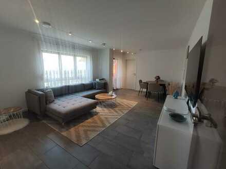 3 Zimmer Wohnung mit Klimaanlage 2 Balkonen sowie gehobene EBK in Neckartenzlingen