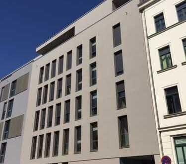 Erstbezug mit Einbauküche und Balkon: stilvolle 3,5-Zimmer-Dachgeschosswohnung in Leipzig