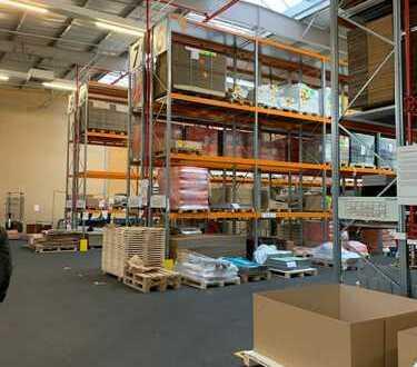 Vielseitig nutzbar | Beheizt | Lagerfläche | Produktionsfläche | Regale | 1.550 m | teilbar