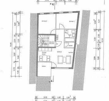 Sehr schöne 3-Zimmer-Wohnung mit Balkon und Einbauküche in Tübingen/Innenstadt