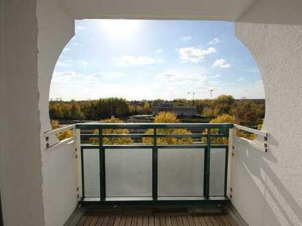 Ruhig gelegene 3-Zimmer-Wohnung mit Weitblick vom Südbalkon