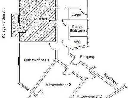Doppelzimmer, WG Calemberger Neustadt