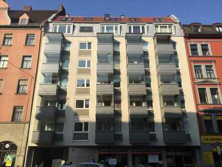 2-Zimmer-Wohnung mit Balkon in Haidhausen