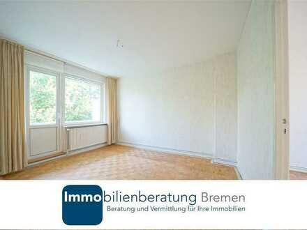 Eigentumswohnung mit Potenzial in Woltmershausen