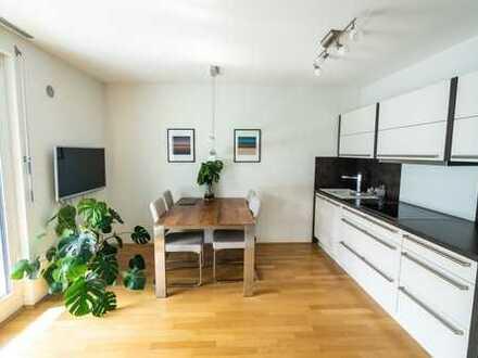 PROVISIONSFREI! Neuwertige 2-Zimmer-Wohnung mit Balkon und Einbauküche neben den Pasing Arcaden