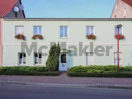 Vermietete 2-Zimmer-Erdgeschosswohnung in zentraler Lage von Anklam und in Ostseenähe
