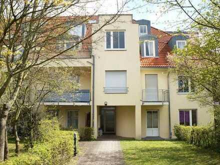 sofort verfügbar: 1-Raum-Wohnung mit Balkon und PKW-Stellplatz