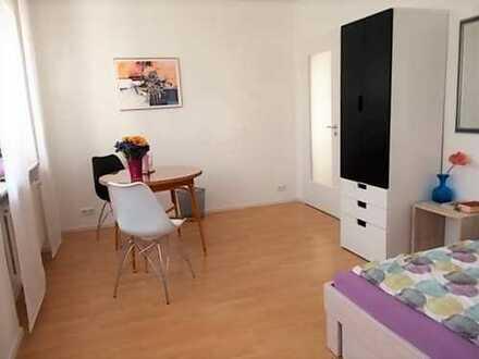 möblierte 1-Zimmerwohnung mit TV, Küche, Dusche/WC, Waschmaschine - flexibel ab 1 Monat mietbar