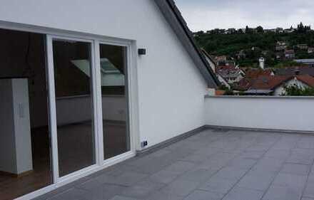 4 Zimmer Penthousewohnung mit großer Dachterasse
