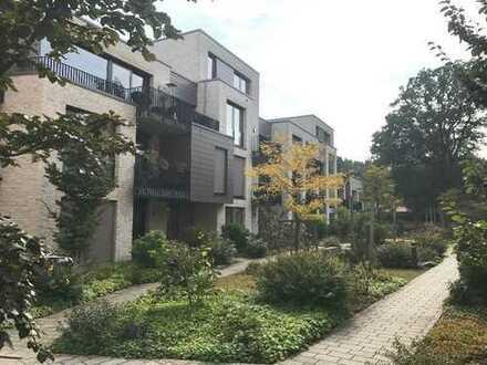Attraktive Erdgeschosswohnung mit Terrasse in einer topmodernen Wohnanlage sowie PKW-Stellplatz!