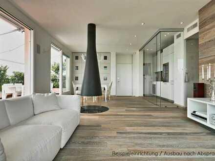 Traumhafte Maisonette-Wohnung in zentraler Stadt-Villa mit Aussicht & großem Garten