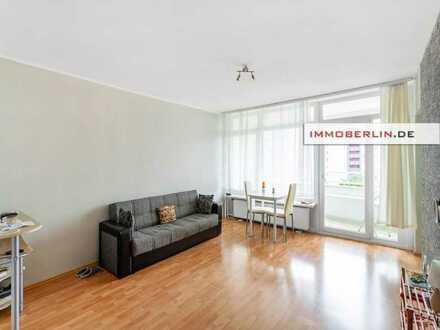 IMMOBERLIN.DE - Sonnige Wohnung mit Südloggia am naturverbundenen Stadtrand