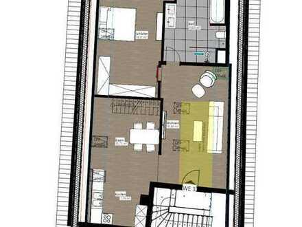 DG-Wohnung nach Kernsanierung im Stadtzentrum (Erstbezug)