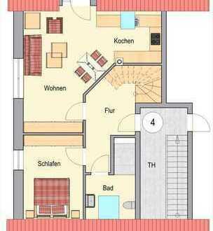 Neubau in Raesfeld! Attraktive, komfortable Maisonette-Wohnung mit Balkon