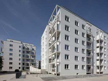 Wohnen im Neubau: 4-Zimmer-Dachgeschosswohnung mit 2 Bädern und umlaufender Terrasse