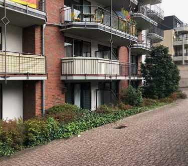 Freundliche 1-Zimmer-Erdgeschosswohnung mit Balkon in Aachen