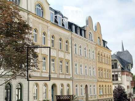 Kapitalanleger • 42,5 qm • charmante 2-Zi-Wohnung • BelEtage in Jugenstilvilla • Plauen