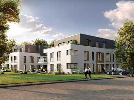 *Repräsentative Maisonette-Gartenwohnung in stilvollem Neubauvorhaben*