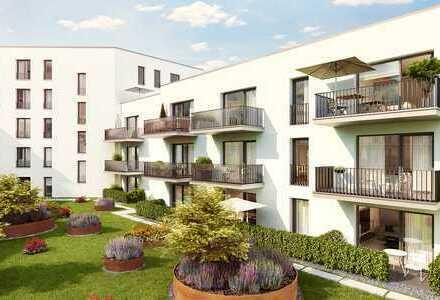 Urban leben am Stobäusplatz - Chice und moderne Eigentumswohnung mit sonniger Gartenterrasse