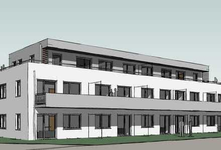 Erstbezug mit Dachterrasse: 4-Zimmer-Penthouse-Wohnung (Wohnberechtigungsschein erforderlich)