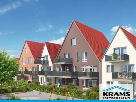 Helle 3-Zimmer-Wohnung mit Terrasse und eigenem Garten - ideal für die kleine Familie!