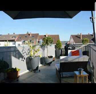 Maisonette Wohnung 3-Zimmer mit Dachterrasse in zentrumsnähe Offenburg