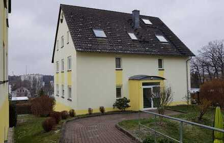 Neuwertige 2-Zimmer-Hochparterre-ETW mit Balkon und TG in Chemnitz