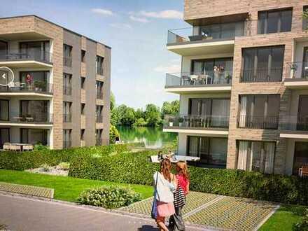 Iller- und Grüntenblick, Erstbezug: moderne 4-Zimmer-Wohnung mit EBK und Balkon in Waltenhofen