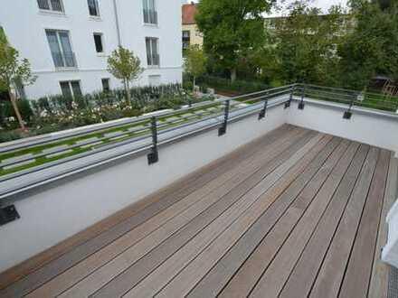 3-Zi.Luxus-Whg. mit Einbaukü., 2Bädern+10m²Südwestterrasse im inn.Westen/direkt am Dörnbergpark