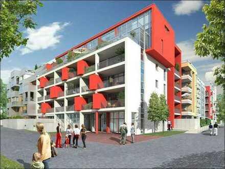 """""""Ouartis Les Halles"""" in Düsseldorf-Pempelfort, helle 3-Raumwohnung mit Parkett in begehrter Lage."""
