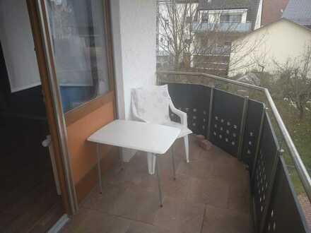 Vermiete WG Zimmer mit Balkon in einer 3,5 Zimmer Wohnung - hochwertig ausgestattet -