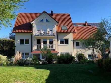 Langenneufnach: 3-ZKB mit eigenem Garten