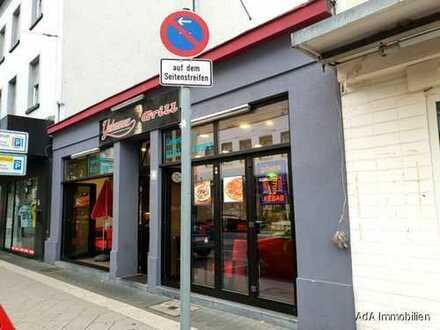 Krefeld- Rheinstraße ! Gastroflächen oder Baulücke für ein Wohn- und Geschäftshaus ?