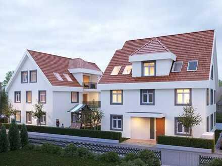 Baugrundstück mit modernem Bauprojekt im Süden Schönaus