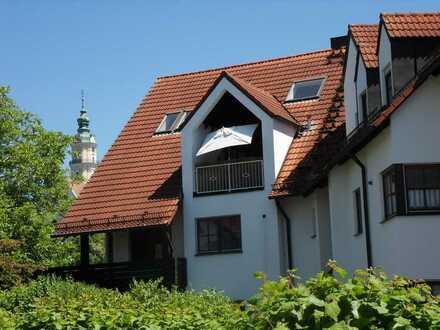 Traumhafte Wohnung mit Galerie in ruhiger Lage direkt an der Wörnitz