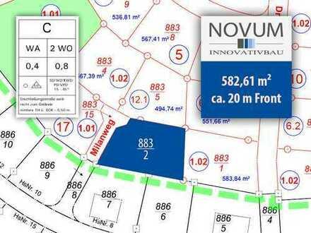 """Baugrundstück in Contwig Neubaugebiet """"Milanweg"""" von Novum Innovativbau"""