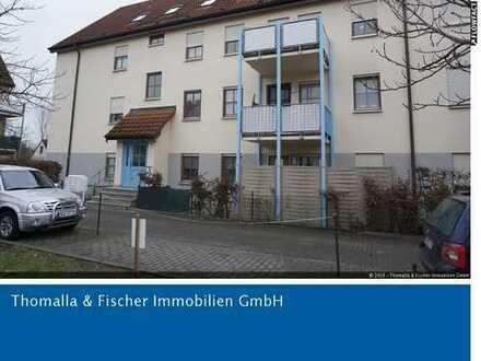 Vermietete 1,5 Zi.-EG-Wohnung mit Terrasse und Pkw-Stellplatz zu verkaufen!