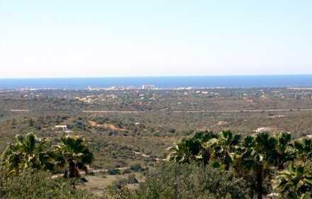 Traumhaftes Grundstück mit herrlichem Meerblick in idyllischer Lage an der Algarve - Portugal