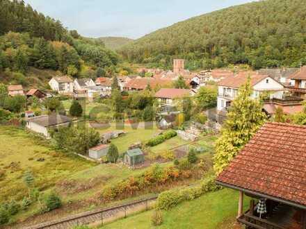 Traumhafte Idylle im Herzen des Pfälzerwalds: Charmante 3-Zimmer-Wohnung mit wunderschönem Ausblick
