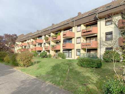 3-Zimmer-Wohnung in ruhiger Lage mit Balkon & Tiefgarage