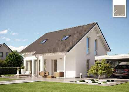 Bauen Sie in Dresden auf knapp 500 m2 (KfW-Effizienzhaus 55)