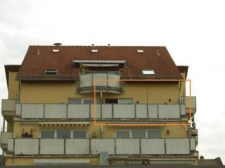 Sonnige 1-Zimmer-Wohnung mit großer Dachterrasse in Zwickau