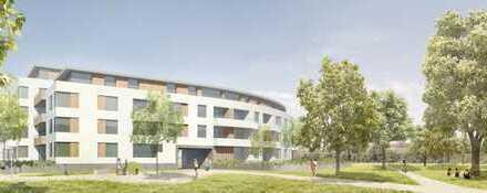 Barrierefreie Drei-Zimmer-Neubauwohnung im Dachgeschoss