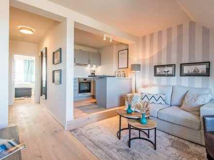 Luxuriöse Wohnung mit Wattblick!