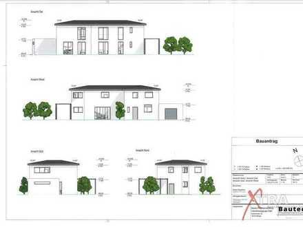Grundstück mit projektiertem Doppelhaus in Steinbach