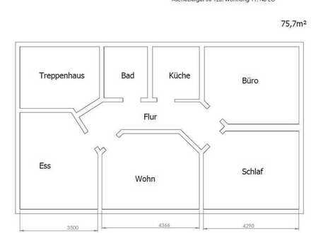 geräumige Erdgeschosswohnung mit neuer Küche (AS11)