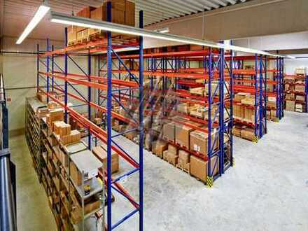 KEINE PROVISION ✓ SOFORT VERFÜGBAR ✓ TOP-LAGE ✓ Lager (800 m²) & Büro (250 m²) zu vermieten